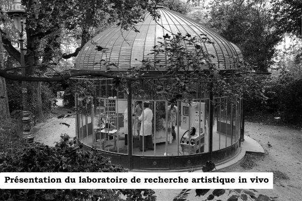 Laboratoire de recherche artistique in vivo